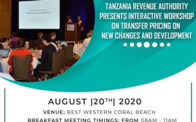Transfer Pricing Workshop with Tanzania Revenue Authority (TRA)